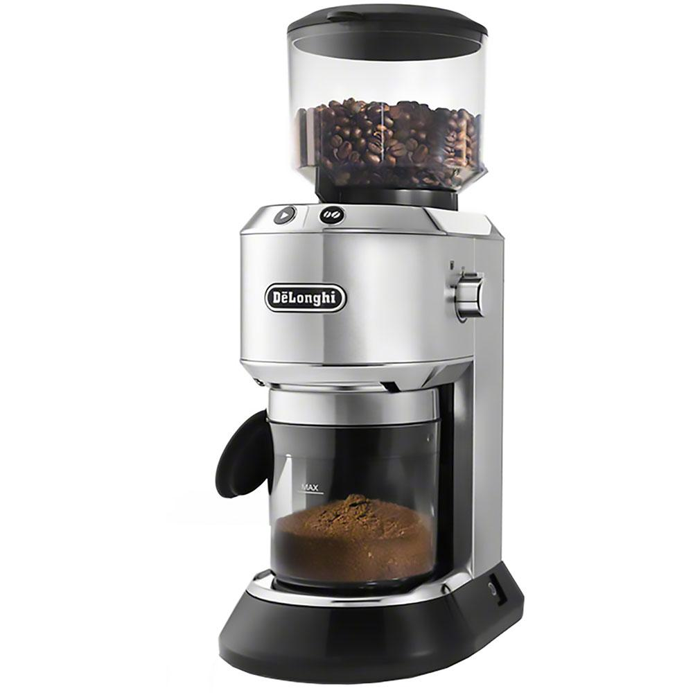 Delonghi Digital Display Conical Burr Coffee Grinder, Sta...