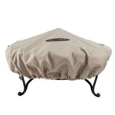 Small 36 in. Round Fire Pit Cover