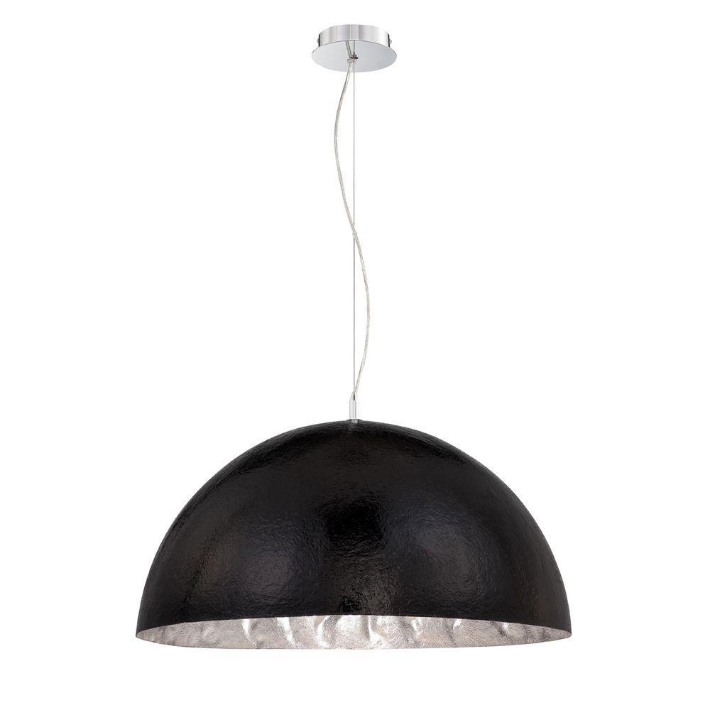 Eurofase Metropol Collection 3-Light Black/silver Pendant-DISCONTINUED