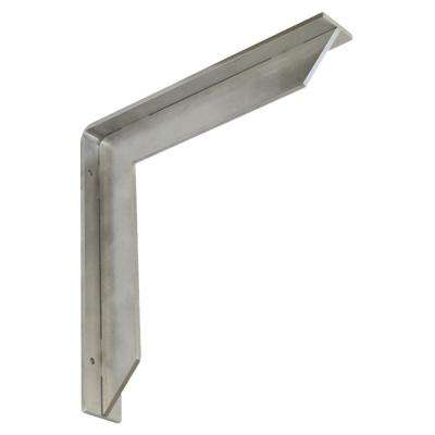 Streamline 24 in. x 2 in. x 24 in. Stainless Steel Low Profile Countertop Bracket