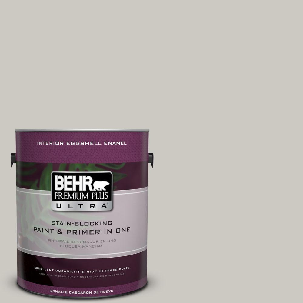 BEHR Premium Plus Ultra Home Decorators Collection 1-gal. #HDC-WR14-2 Winter Haze Eggshell Enamel Interior Paint