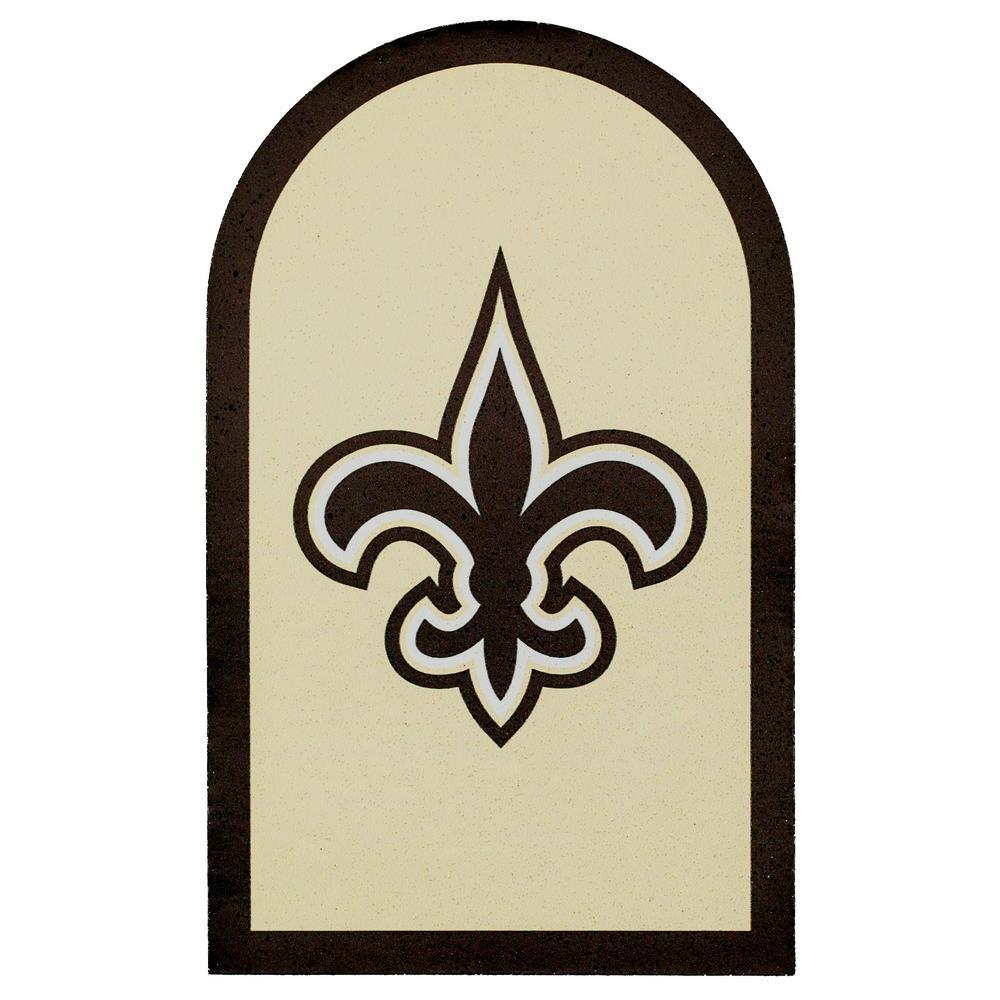 NFL New Orleans Saints Mailbox Door Logo Graphic