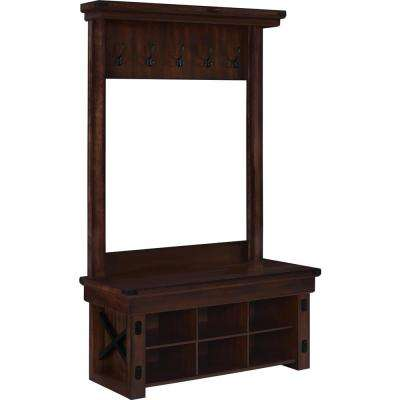 Hall Trees Entryway Furniture The Home Depot
