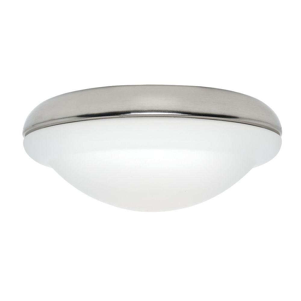 Casablanca Low-Profile Glass Shade Opal with Accent-DISCONTINUED
