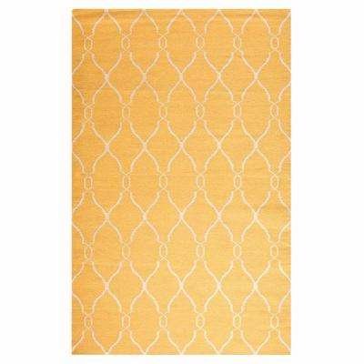 Argonne Yellow 3 ft. x 5 ft. Area Rug