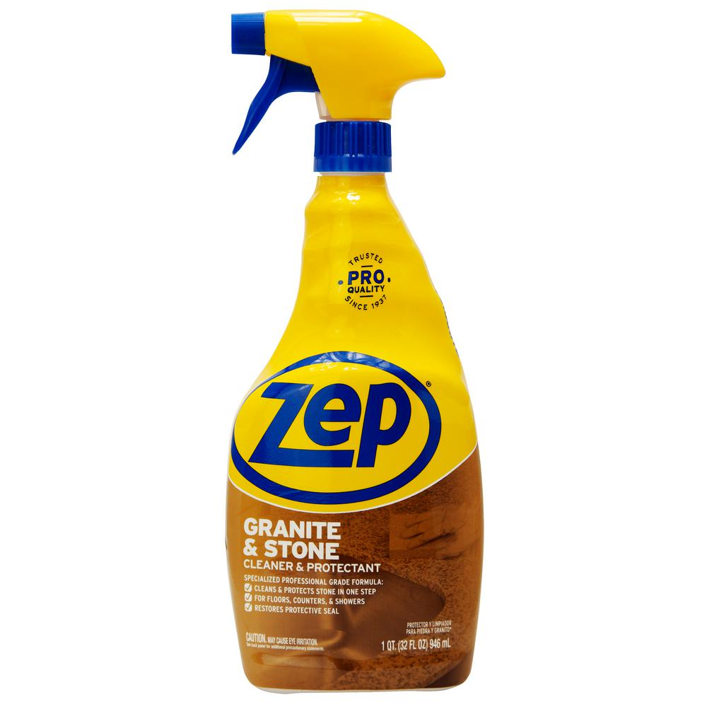 ZEP 32 oz. CleanStone Plus Protectant Ready To Use Sprayer Cleaner