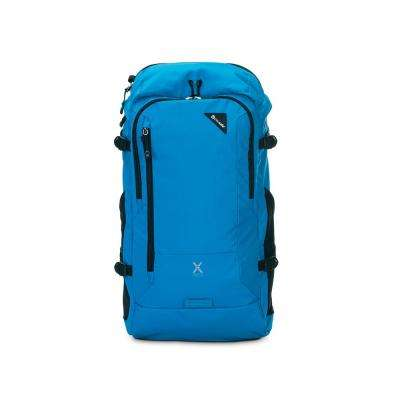 Venturesafe X30 21 in. Blue Backpack with Laptop Compartment and Raincover
