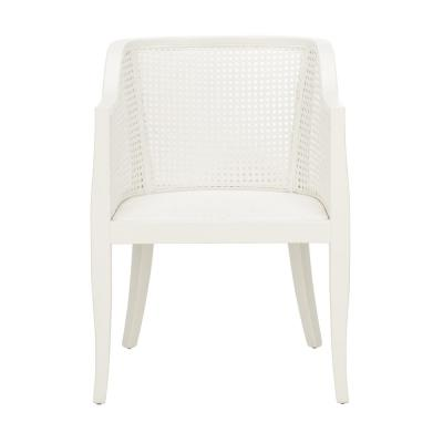 Rina White/Black Dining Chair