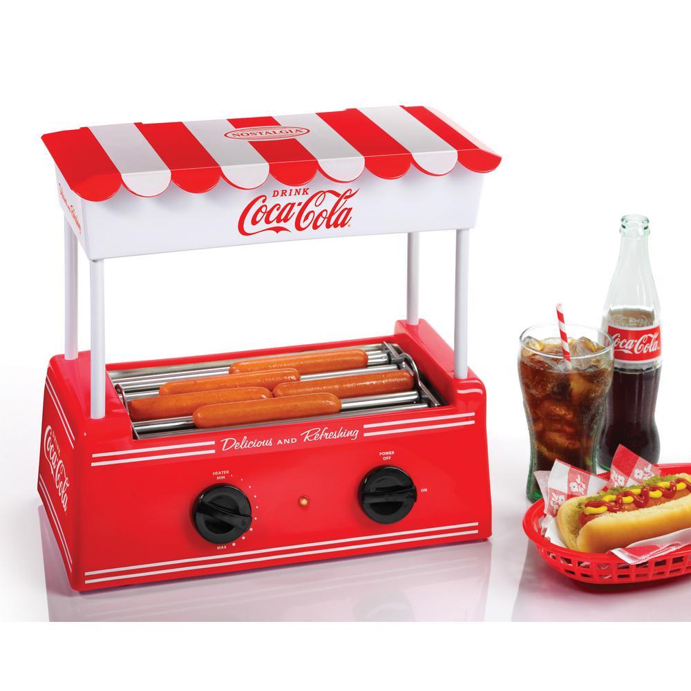 Nostalgia Coca-Cola Hot Dog Roller Grill