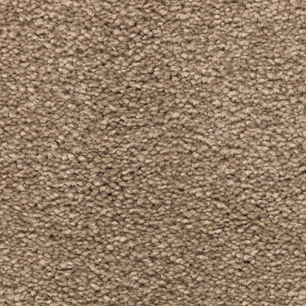 Lifeproof Unblemished I Color Sandalwood Textured 12 Ft Carpet