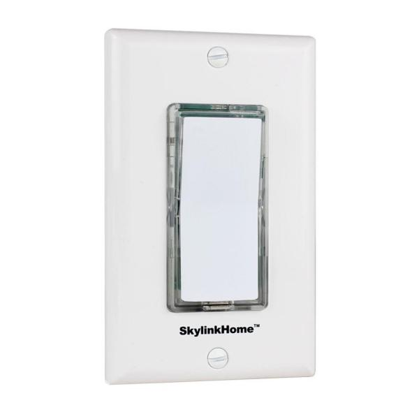 TB-318 Wireless Wall Mounted Light Switch Transmitter for Skylink Receivers - White