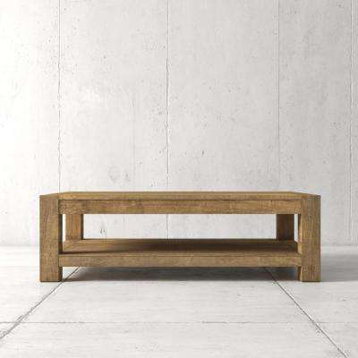 Villa 60 in. Natural coffee Table