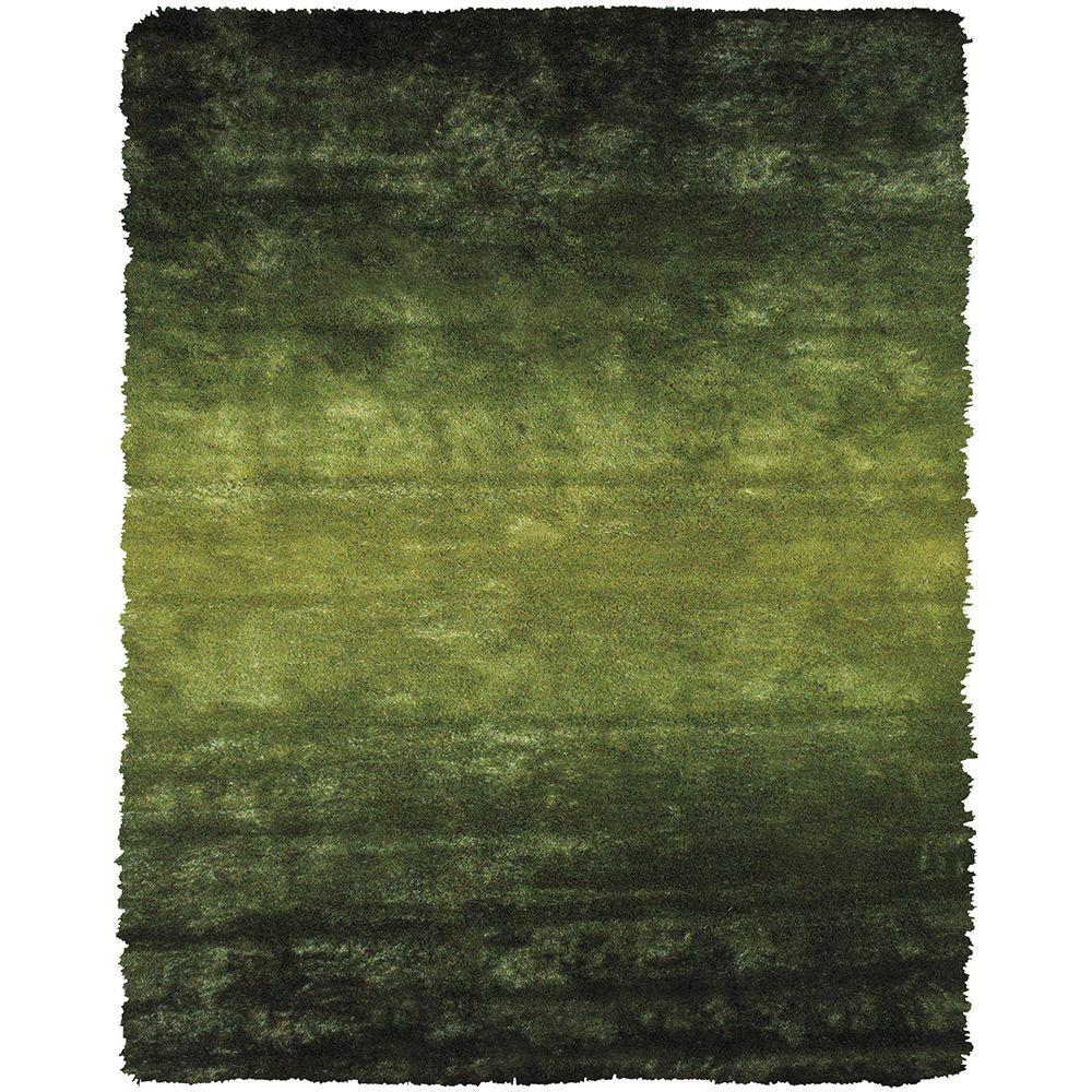 Feizy Indochine Green 4 ft. 9 in. x 7 ft. 6 in. Indoor Area Rug