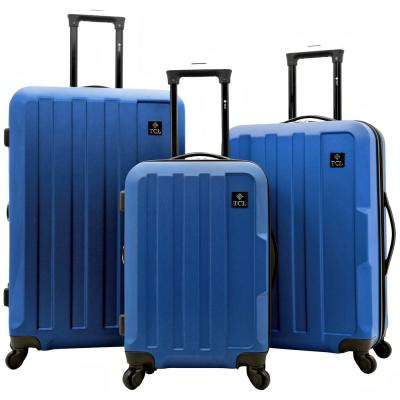 Albany 28 in., 24 in. and 20 in.Value Hardside Suitcase Set with Spinner Wheels (3-Piece)