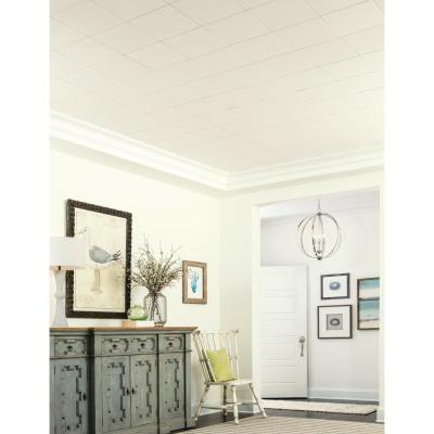Washable White 1 ft. x 1 ft. Clip Up or Glue Up Ceiling Tile (1,920 sq. ft. / pallet)