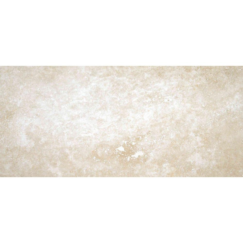 Msi Tuscany Ivory 8 In X 12 Honed Travertine Floor And Wall Tile