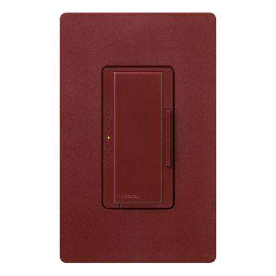 Maestro Dimmer for Incandescent and Halogen, 1000-Watt, Single-Pole/3-Way/Multi-Location, Merlot