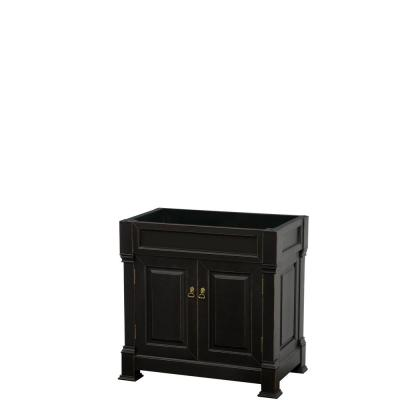Andover 36 in. W x 22.25 in. D Bath Vanity Cabinet Only in Black