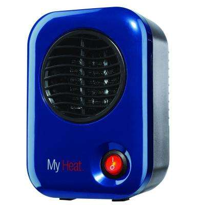 My Heat 200-Watt Personal Ceramic Portable Heater - Blue
