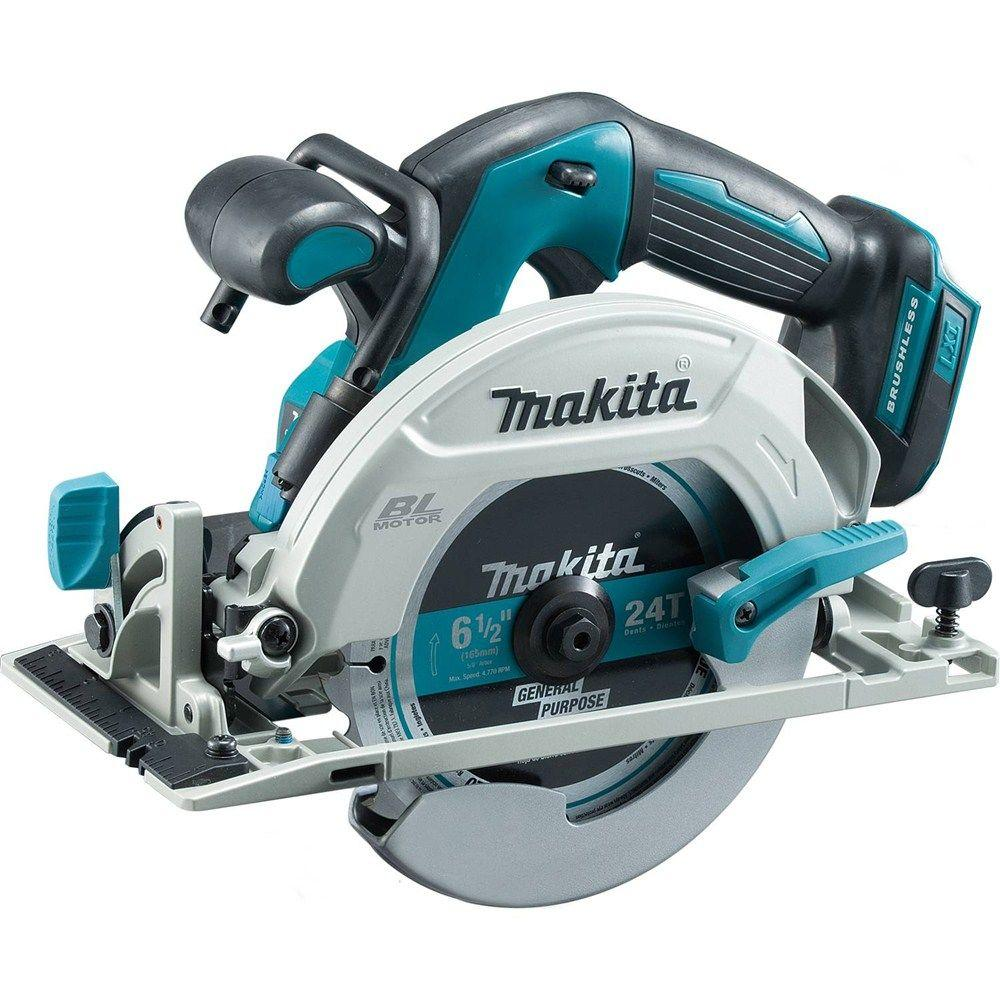 18-Volt LXT Lithium-Ion Brushless Cordless 6-1/2 in. Circular Saw with Electric