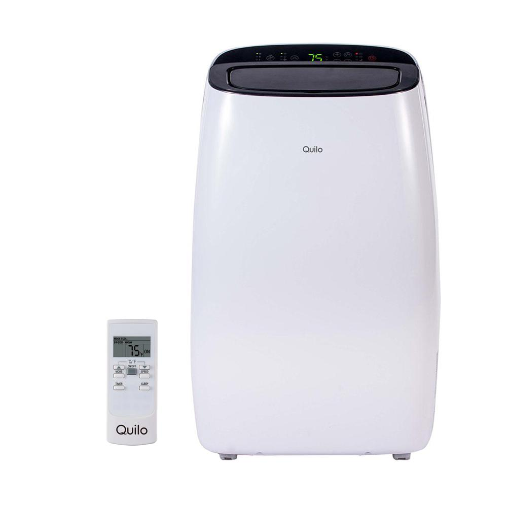 Quilo 10,000 BTU 115V Portable Air Conditioner with Remote Control and Dehumidifier Quilo 10,000 BTU 115V Portable Air Conditioner with Remote Control and Dehumidifier