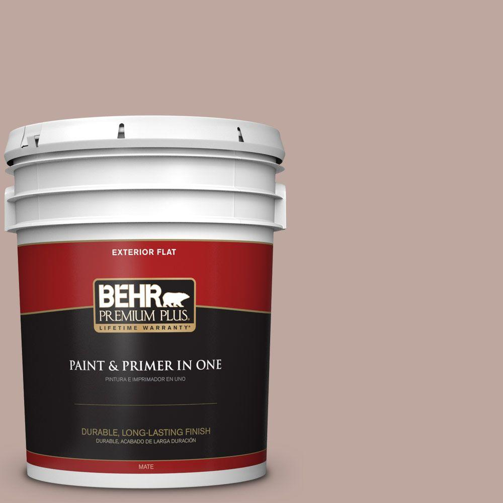 5-gal. #PWL-88 Heavenly Cocoa Flat Exterior Paint