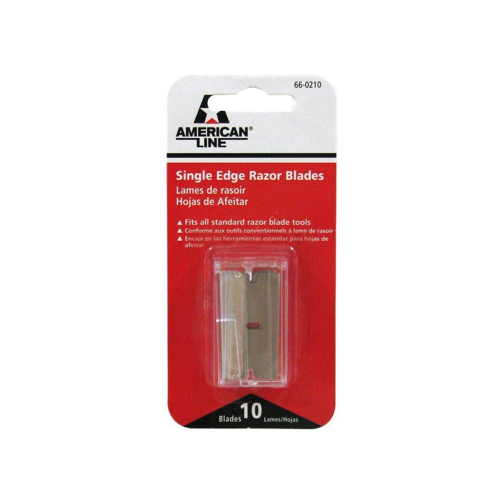 American Line Single Edge Razor Blades (10-Pack)