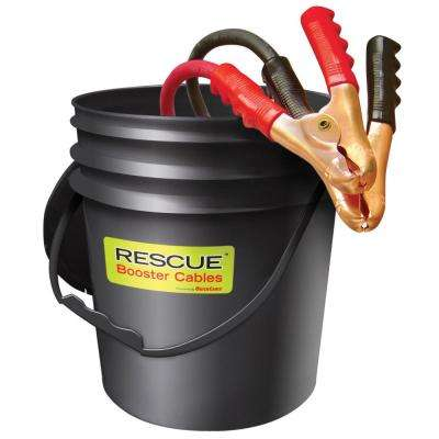 1/0-Gauge 30 ft. Booster Cables in Pail