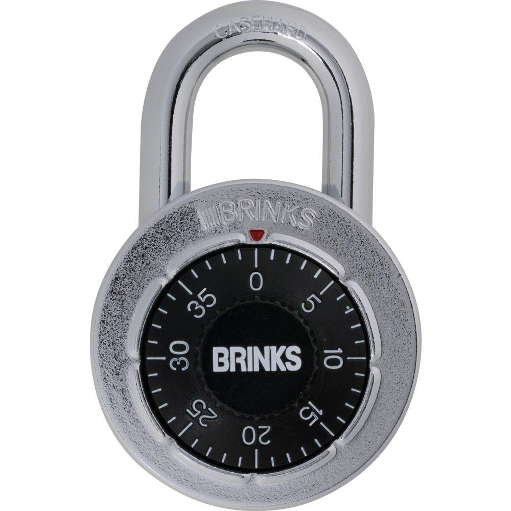 brinks steel dial combination lock 172 49001 the home depotsteel dial combination lock