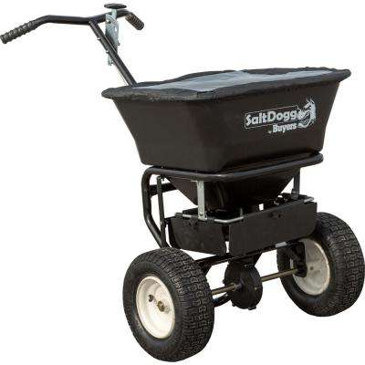 31.5 in. 100 lbs. Walk Behind Broadcast Salt Spreader