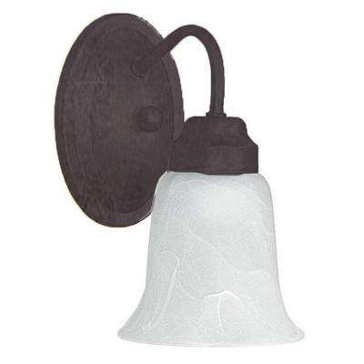 Grimmer 1-Light Oil-Rubbed Bronze Sconce