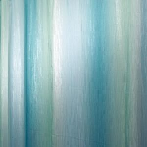 Ombre Print Shower Curtain in Blue/Green by