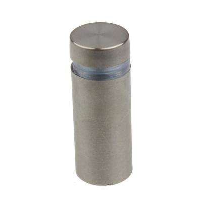 1/2 in. Dia x 1 in. L Stainless Steel Standoffs for Signs (4-Pack)