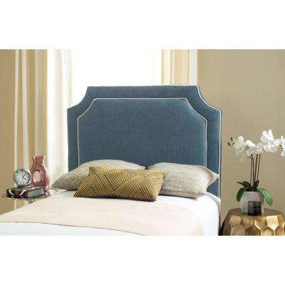 Dane Denim Blue Twin Headboard