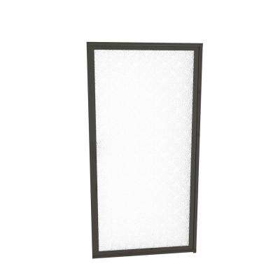 1100 Series 34-3/4 in. W x 63-1/2 in. H Framed Pivot Shower Door in Oil Rubbed Bronze with Pull Handle