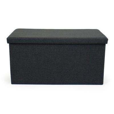 Brown Tray Ottoman Coffee Table with Storage