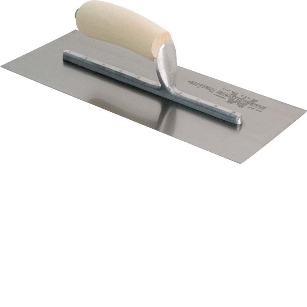 Marshalltown 13 in. x 5 in. Finishing Trowel