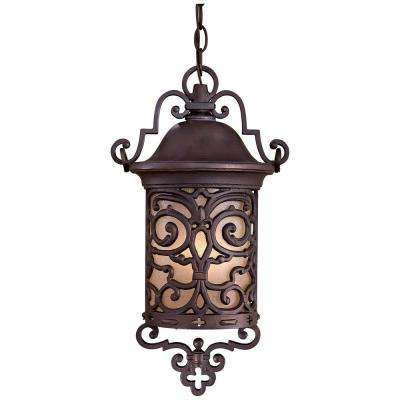 Chelesa Road Chelesa Bronze 1-Light Outdoor Hanging Lantern