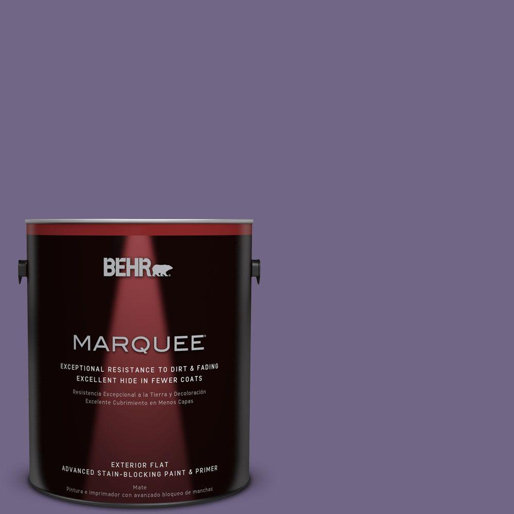 BEHR MARQUEE 1-gal. #PPU16-18 Hyacinth Arbor Flat Exterior Paint