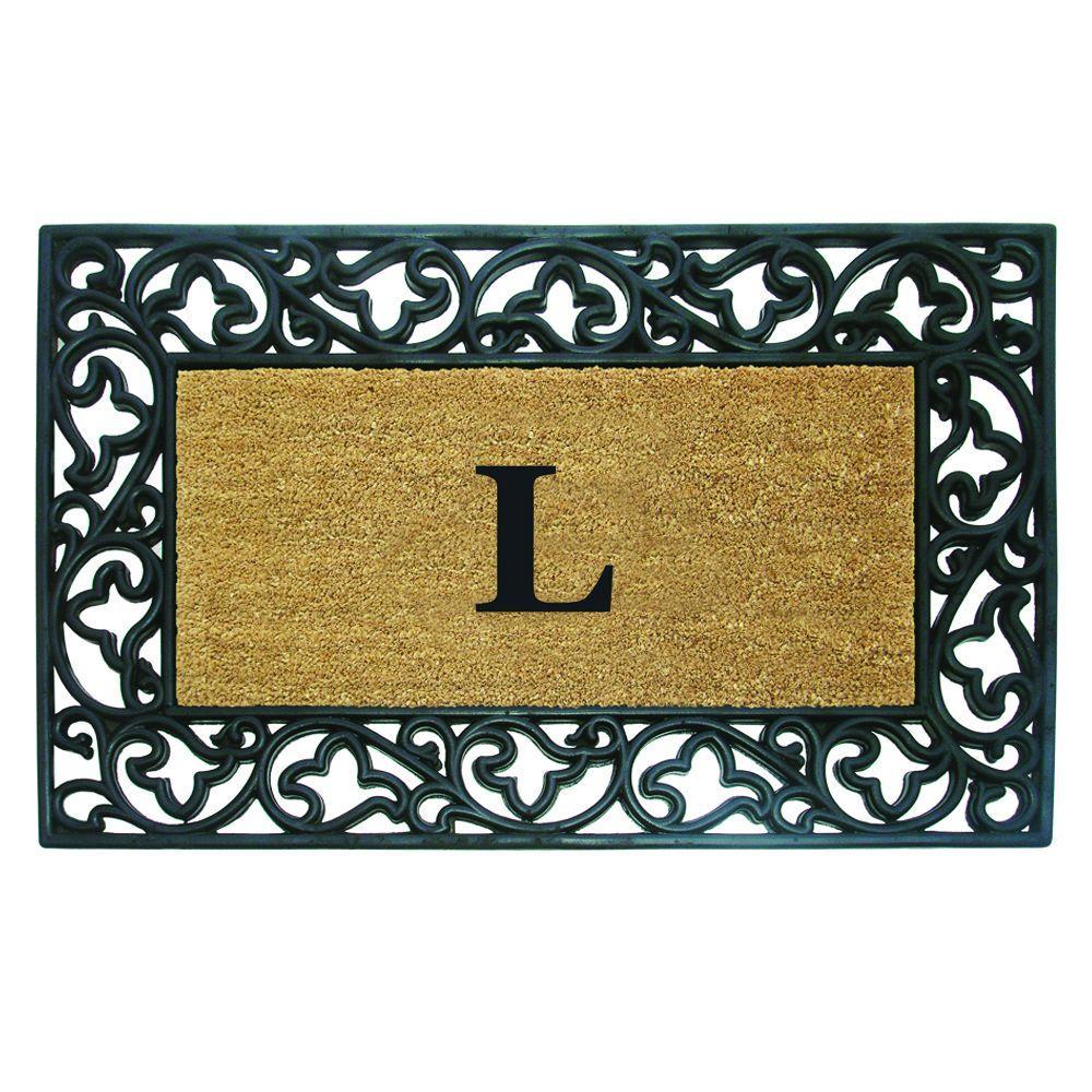 LL Home Coir Star Door Mat
