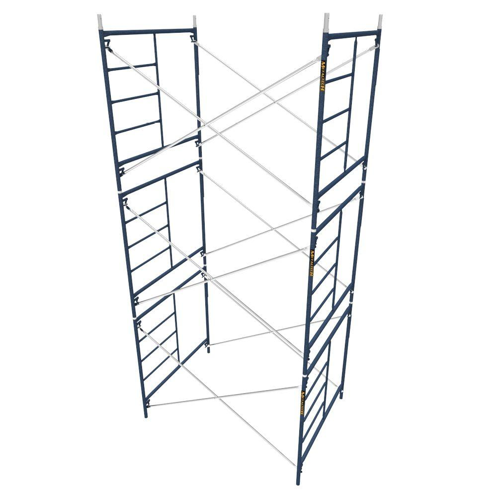 Saferstack 5 ft. x 7 ft. x 5 ft. Mason Scaffold