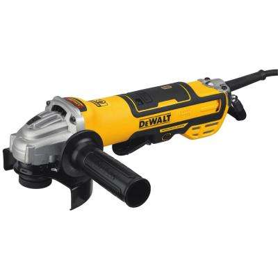 13 Amp Corded 5 in. Brushless Angle Grinder with Paddle Switch
