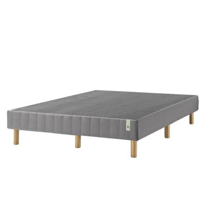 Good Design Winner Grey Metal California King 14 in. Mattress Foundation