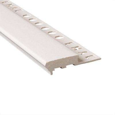 Novopeldano Maxi Sand 3/8 in. x 98-1/2 in. Composite Tile Edging Trim
