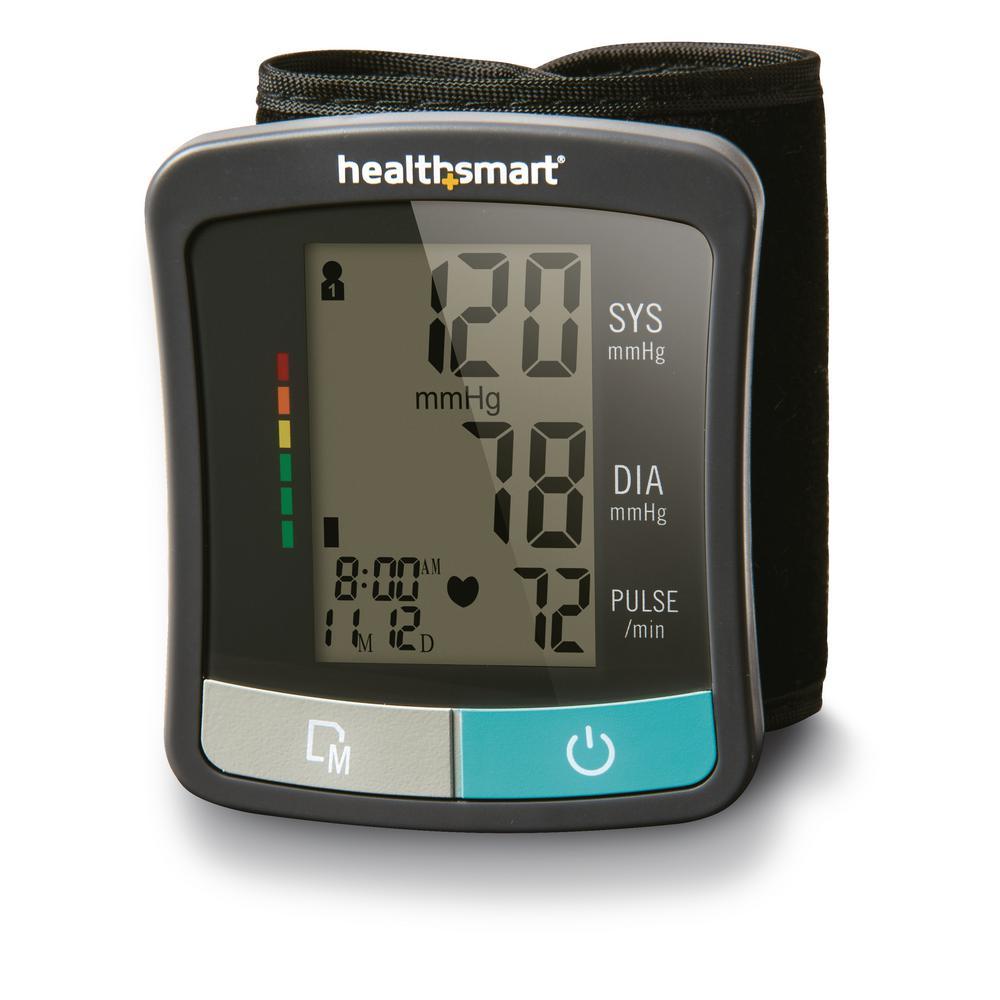 Healthsmart Standard Series Automatic Digital Wrist Blood Pressure Monitor