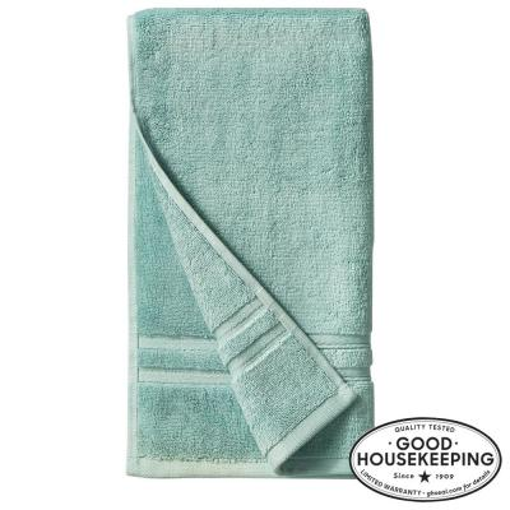 Turkish Cotton Ultra Soft Hand Towel in Aqua