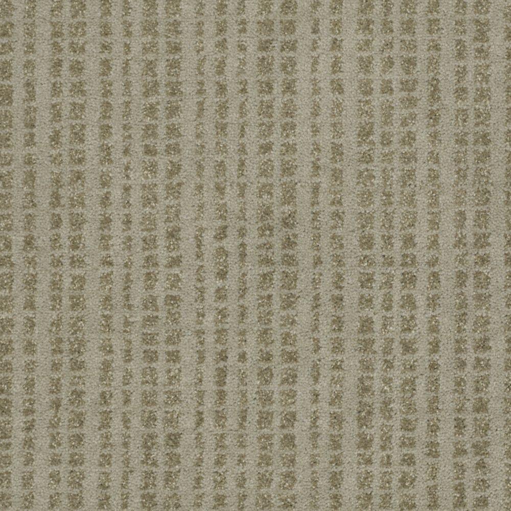 Martha Stewart Living Buckley Ridge - Color Mushroom 6 in. x 9 in. Take Home Carpet Sample-DISCONTINUED