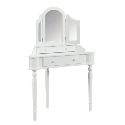 Kelly 3-Piece White Vanity Set