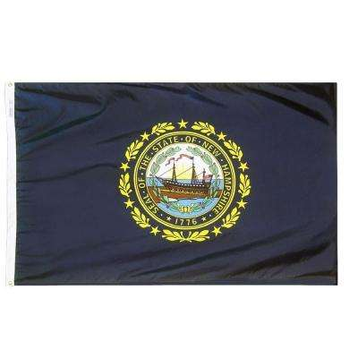 4 ft. x 6 ft. New Hampshire State Flag