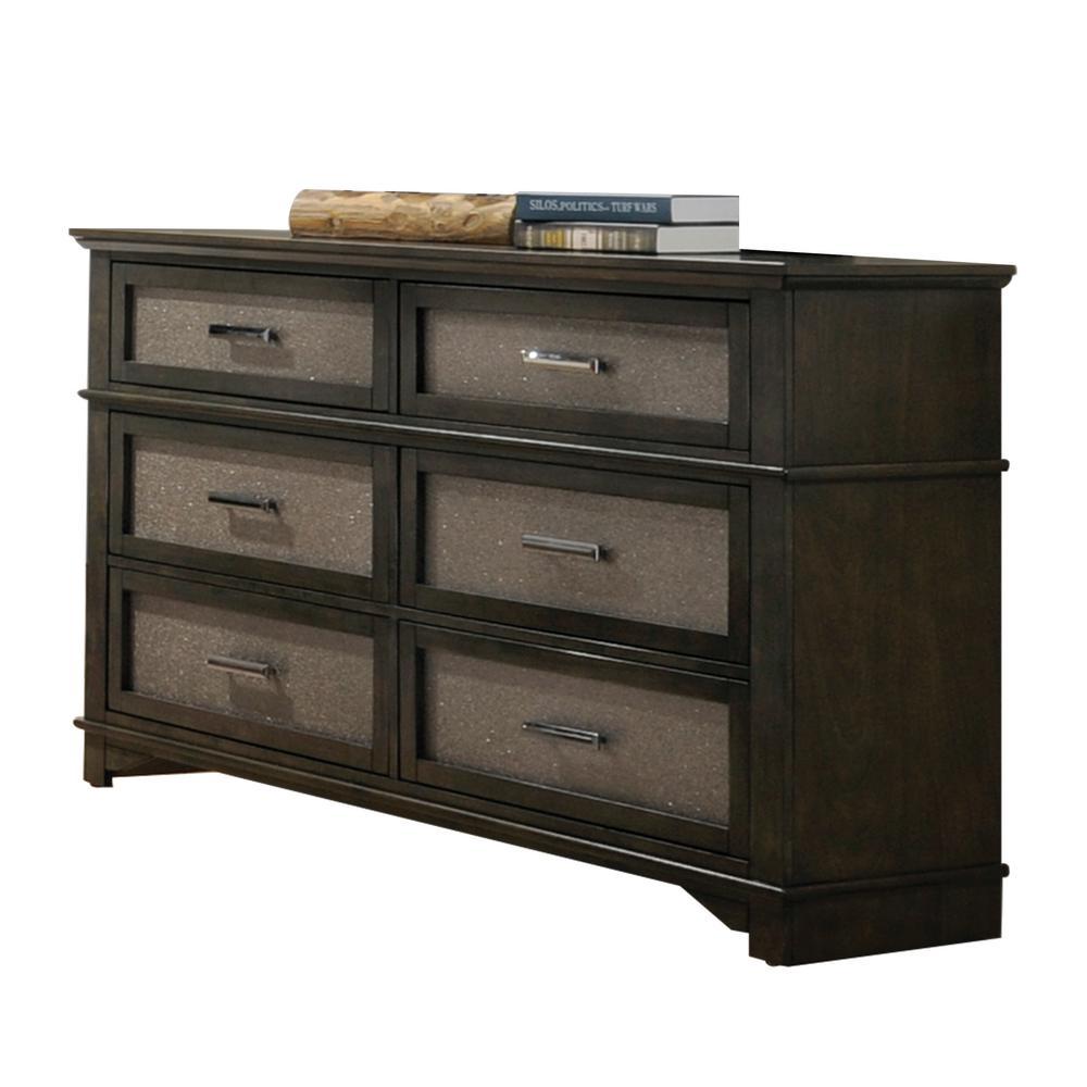 Anatole Dark Walnut Dresser